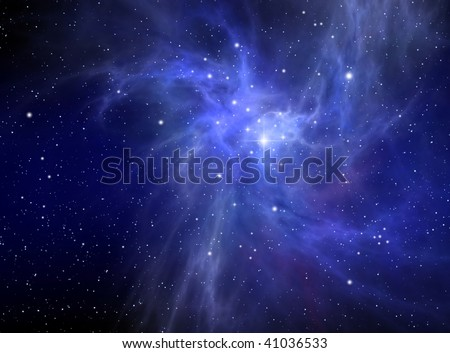 Nebula ( abstract background )