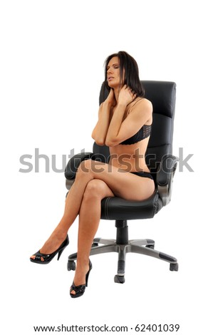 That hot girl sitting in chair theme