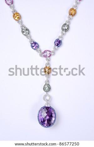 necklace - stock photo