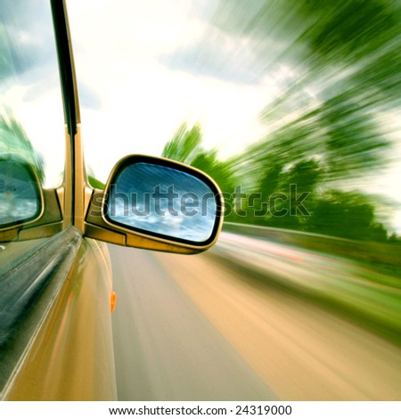 need for speed - stock photo