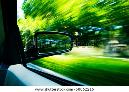 Need for speed transportation background. - stock photo