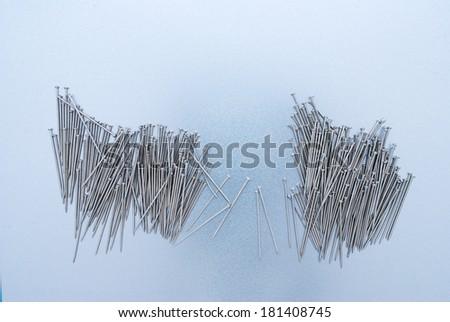needles - stock photo