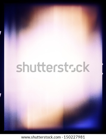 Neg Film  - stock photo