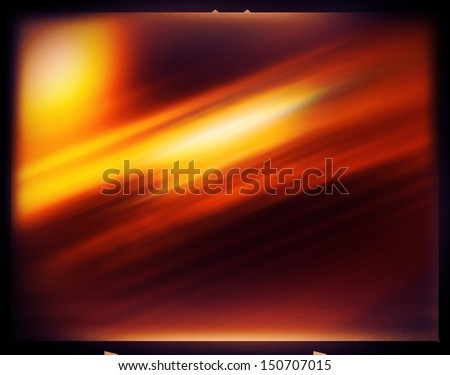 Neg Film background - stock photo