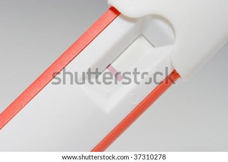 Negative pregnancy test - stock photo
