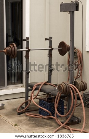 neglected exercise equipment