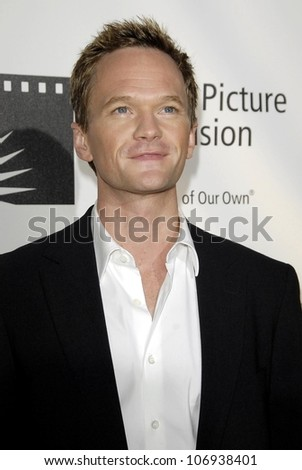 Neil Patrick Harris  at the Fourth Annual 'A Fine Romance' Gala to benefit the Motion Picture and Television Fund. Sony Pictures, Culver City, CA. 11-08-08