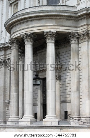 Neoclassical Palace in London, UK