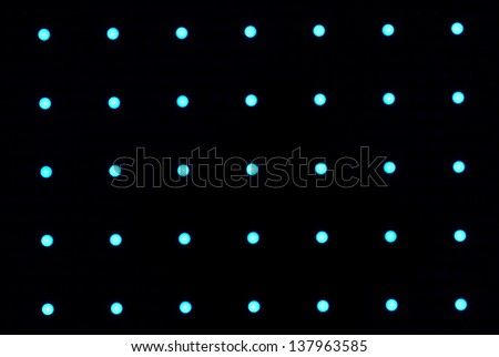 Neon light Cafe sign - stock photo