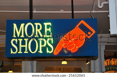 neon sign - stock photo