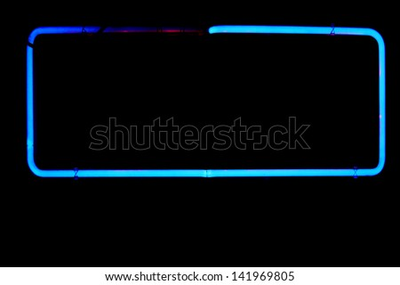 neon signs and symbols isolated on black. neon symbols and words and letters are easily copied and pasted into various sentences and statements for your ease of usage. all generic neon designs - stock photo