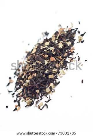 Nepalese Kashmir Tchai - blend of spices and tea - stock photo