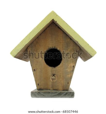 Nest box birdhouse - stock photo