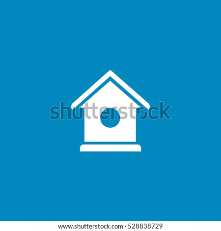 nesting box icon, on white background
