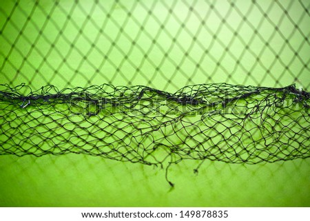 Net. Close up of netting as background. - stock photo