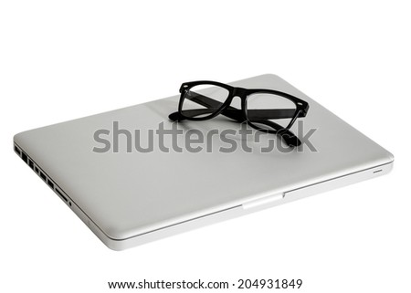 Netbook - stock photo