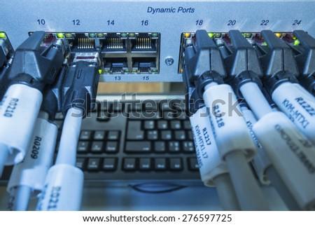 Network - stock photo