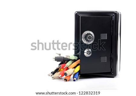 Network and data secure , data secure concept - stock photo