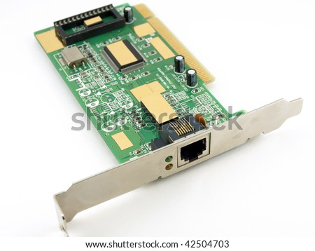 Network card for computer