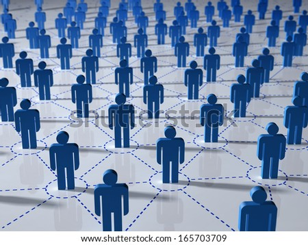 network concept - stock photo