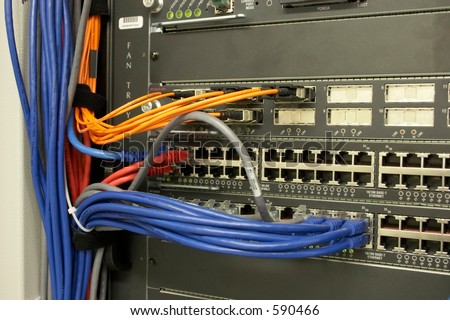 Network Connections - stock photo