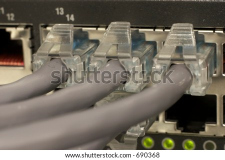 Network Connections 3 - stock photo