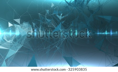 Network connections. Abstract background of a communication concept.   - stock photo