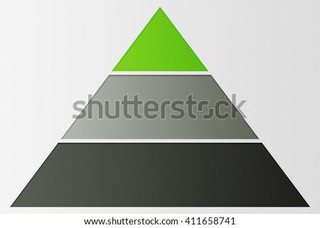Network Marketing Pyramid Background - stock photo