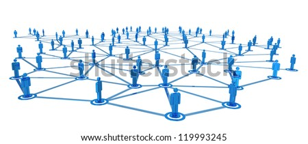 Network People - stock photo