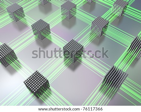 networking - stock photo