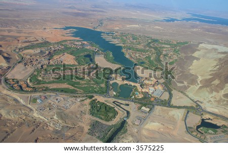 Nevada from up high 3 - stock photo
