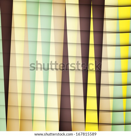 new abstract background with colored stripes can use like trendy design - stock photo