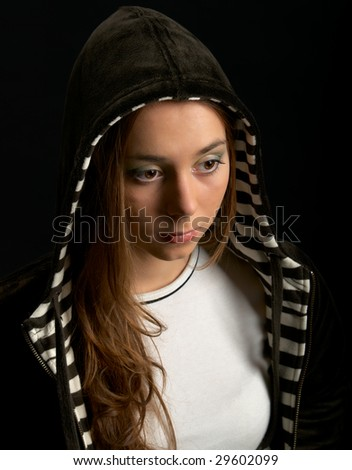 New age Nefertiti - stock photo