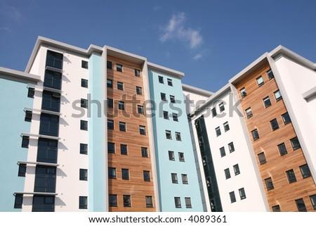 New Apartments - stock photo
