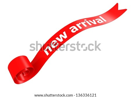 New arrival banner - stock photo