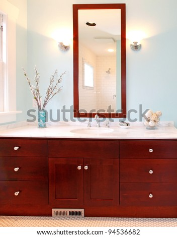 bathroom cabinets home depot wholesale vanities near me cabinet ikea hack stock photo beautiful modern brown