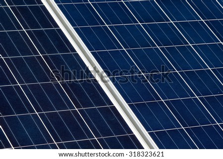 new blue cell electric exterior solar panel