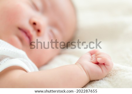 New born baby sleep