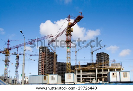 new building construction site