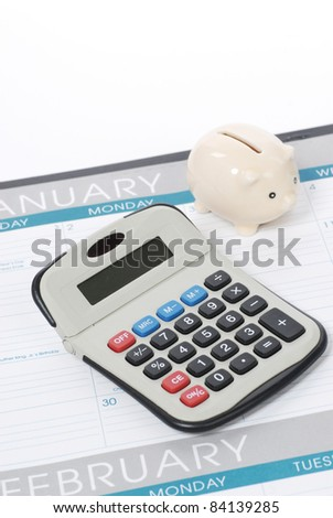 new 2012 calender - stock photo
