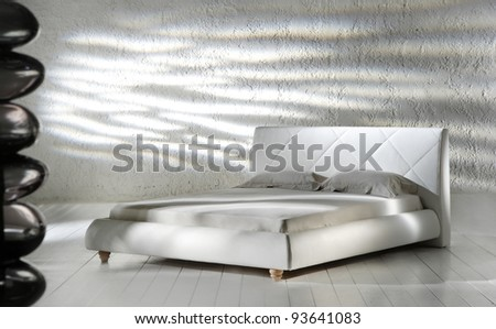 new classic bedroom - stock photo