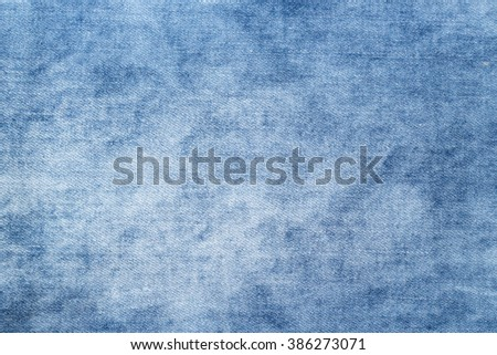 new clean jeans background or texture - stock photo
