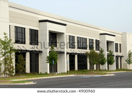 New Commercial Office Building - stock photo