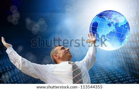 New computer Internet technology - stock photo