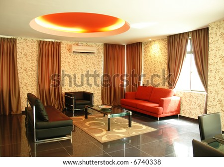 new concept modern living room interior design