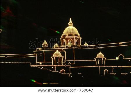 new delhi, India, capital, festival - stock photo