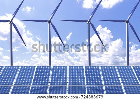New energy, solar and wind power will solve future energy shortages