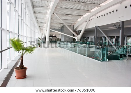 New euro60 million (US$84 million) second terminal at the capital's main airport - stock photo