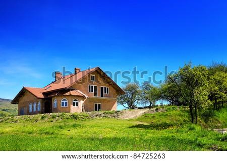 New family home - stock photo