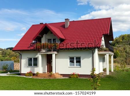 New Family House - stock photo
